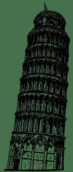 Italstudio - Toren van Pisa